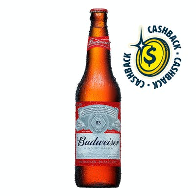 Budweiser 600ml | Apenas o Líquido - Unidade