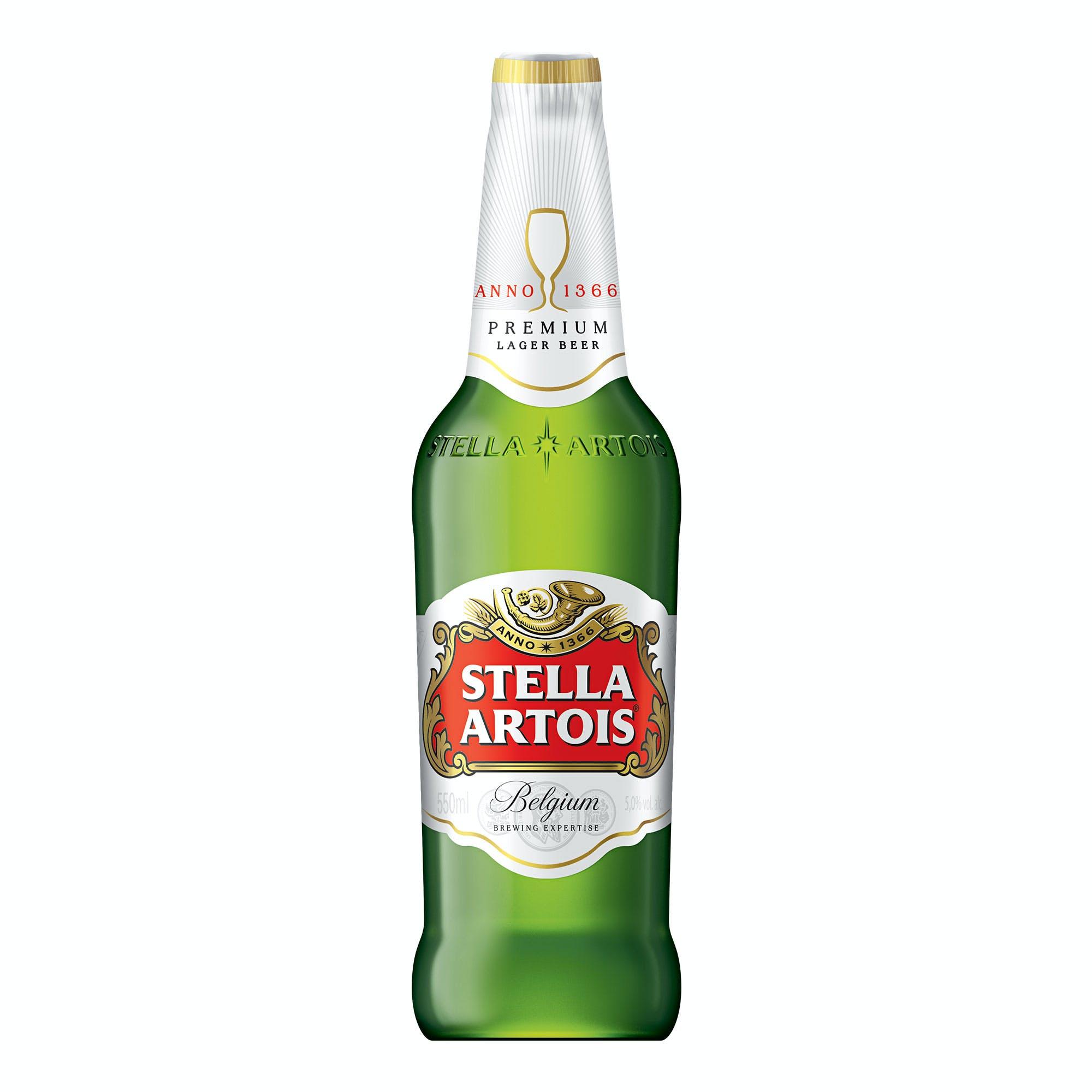 Stella Artois 550ml | Vasilhame Incluso
