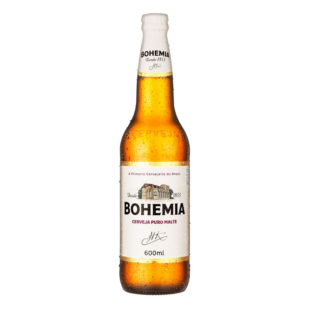Bohemia 600ml | Vasilhame Incluso