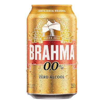 Brahma Zero 350ml - Unidade