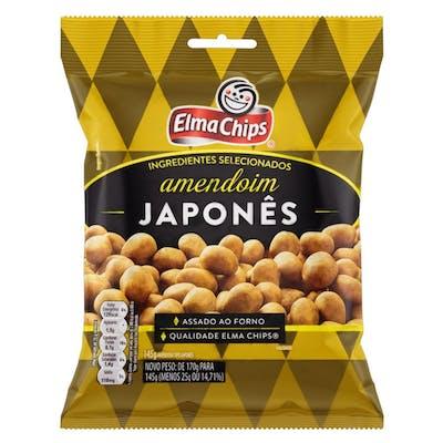 Amendoim Japonês Elma Chips 170g