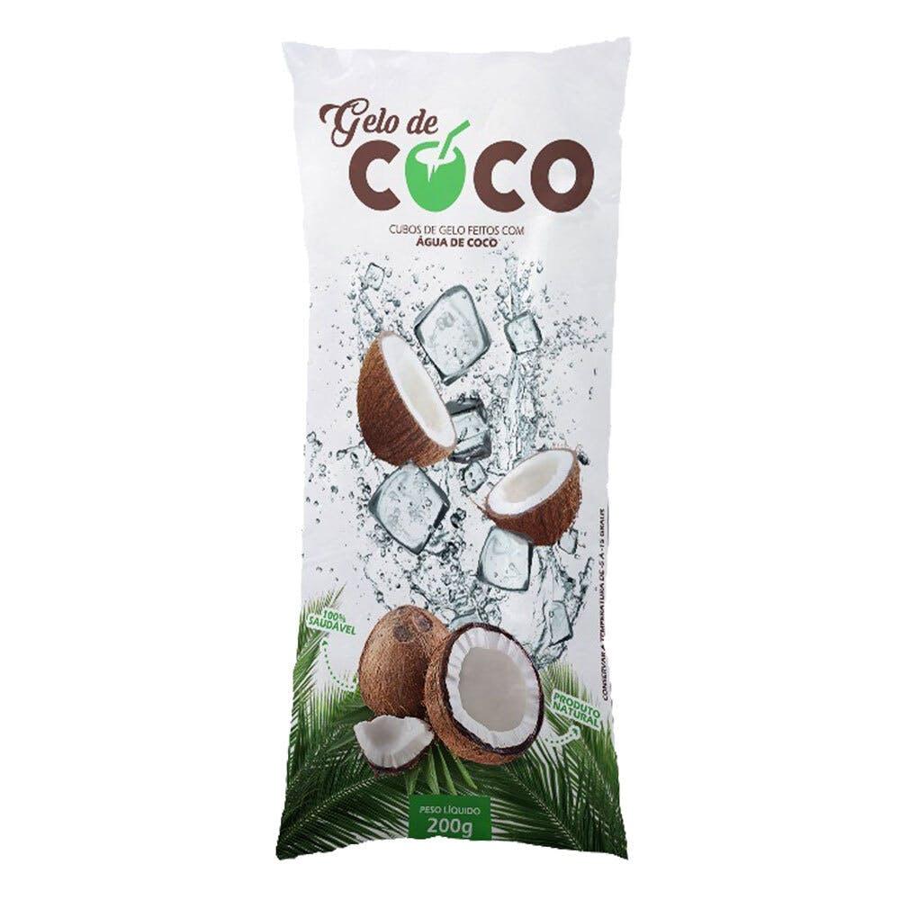 Gelo de Água de Coco - Marca Gelo de Coco 200g