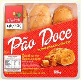 Pão Doce de Churrasqueira ou Forno Santa Massa 100gr