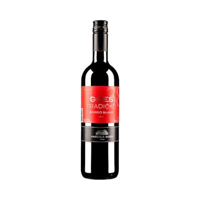 Vinho Bordô Tinto Suave Tradição Góes 750ml
