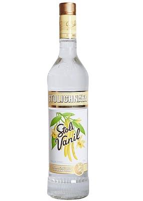 Vodka Stolichnaya Vanilla 750ml