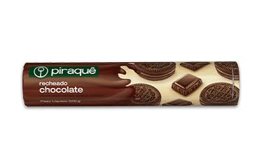 Biscoito Piraque Rech Chocolate 200g