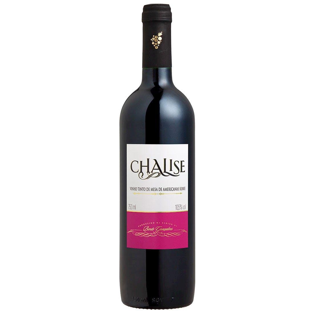 Vinho Tinto de Mesa Suave Chalise 750ml