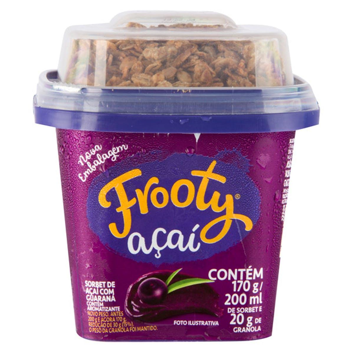 Açai Frooty Original com Granola 200ml