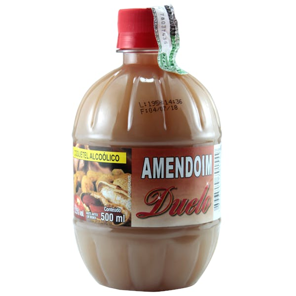 Cachaça Duelo Amendoim 500ml