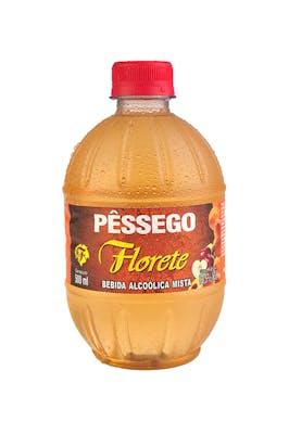 Cachaça Florete Pêssego 500ml