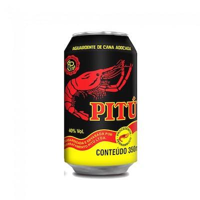 Cachaça Pitú 350ml