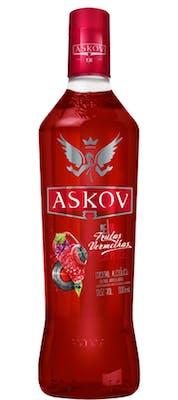Vodka Askov Frutas Vermelhas 900ml