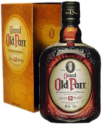 Whisky Old Parr Grand 12 Anos 1L