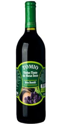 Vinho Tinto de Mesa Seco Tomio 750ml