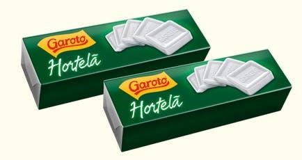 Pastilhas de Hortelã Garoto 17g