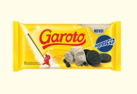 Chocolate Branco Garoto Sabor Negresco 100g