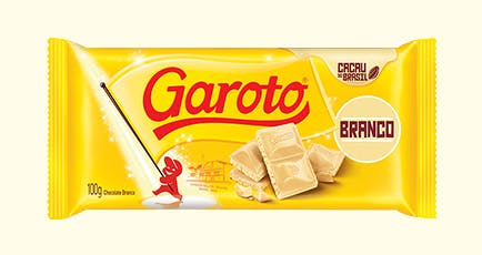 Chocolate Branco Garoto 100g