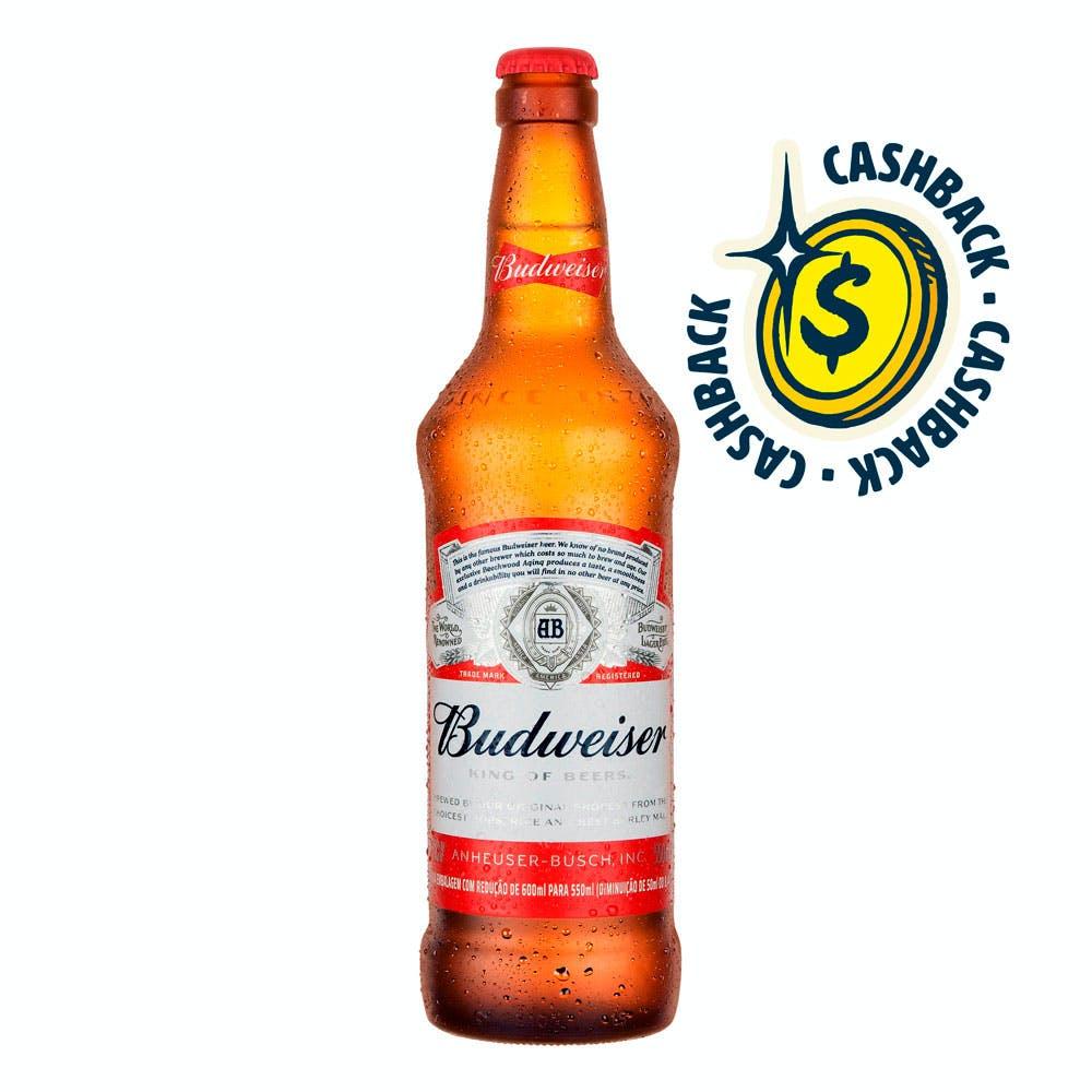 Budweiser 550ml | Vasilhame Incluso