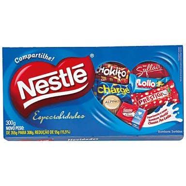 Caixa Bombons Nestlé 251g