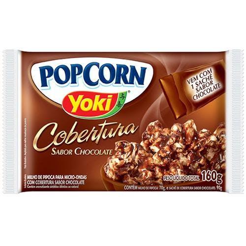 Pipoca Sabor Chocolate - 100g