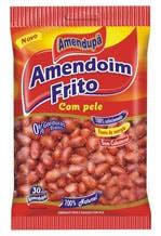 Amendoim Amendupã Frito com pele - 30g