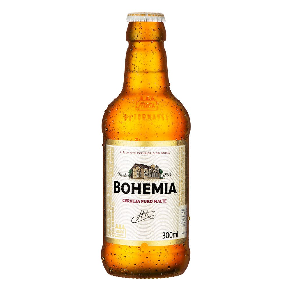 Bohemia 300ml | Vasilhame Incluso