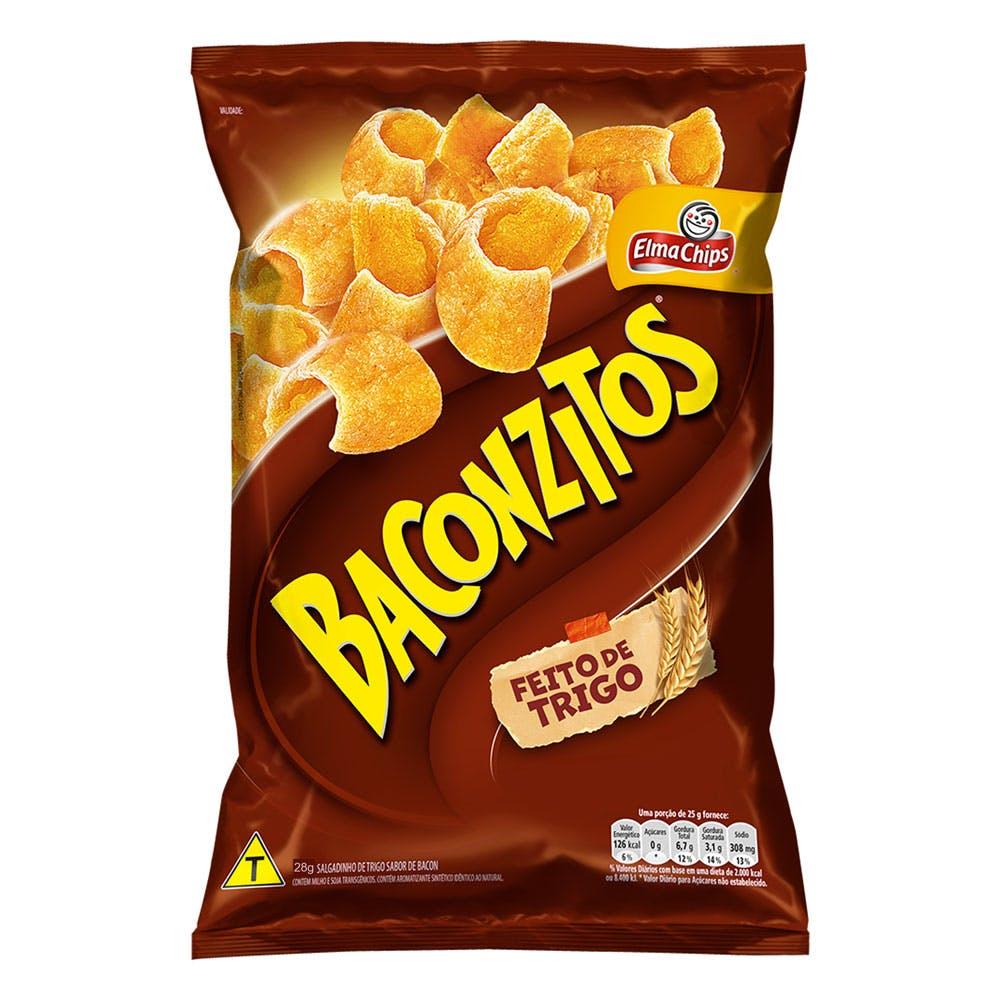 Baconzitos Elma Chips 28g