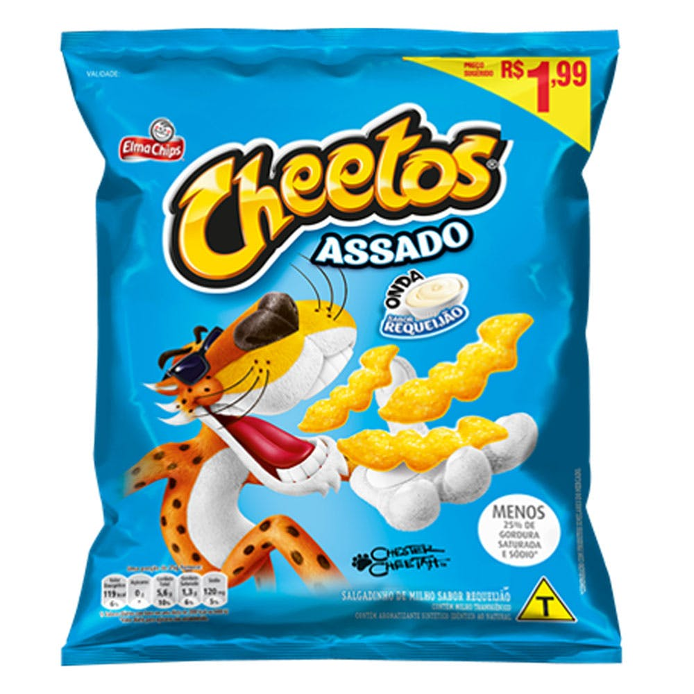 Cheetos Onda Requeijão 42g