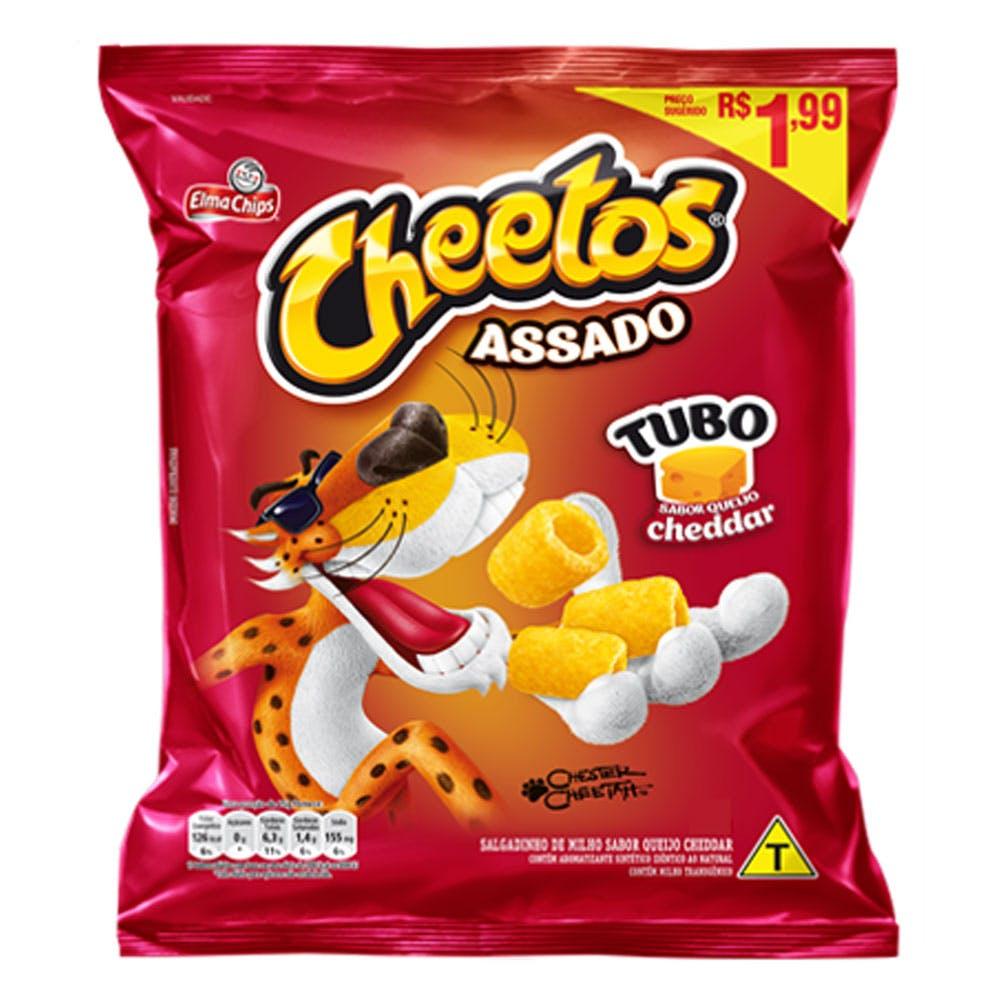 Cheetos Tubo Cheddar 42g