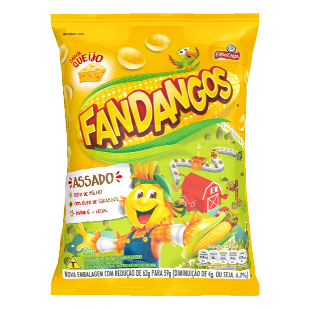 Fandangos Queijo 59g