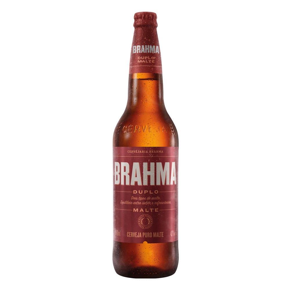 Brahma Duplo Malte 600ml | Apenas o Líquido