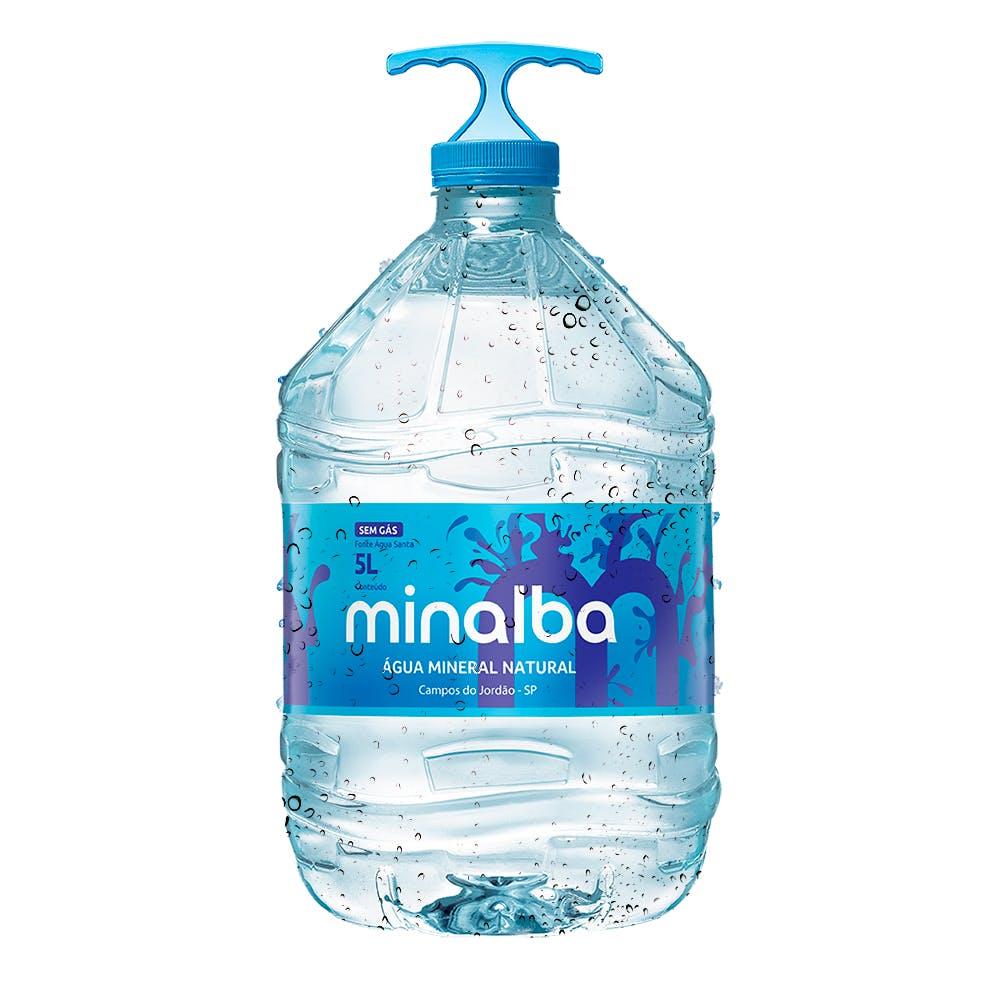Água Sem Gás Minalba 5L