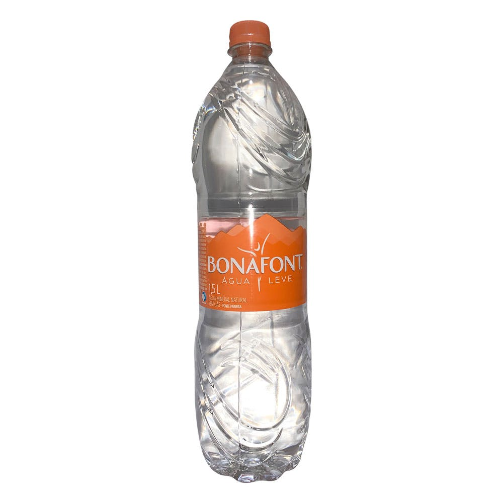 Água Sem Gás Bonafont 1,5L