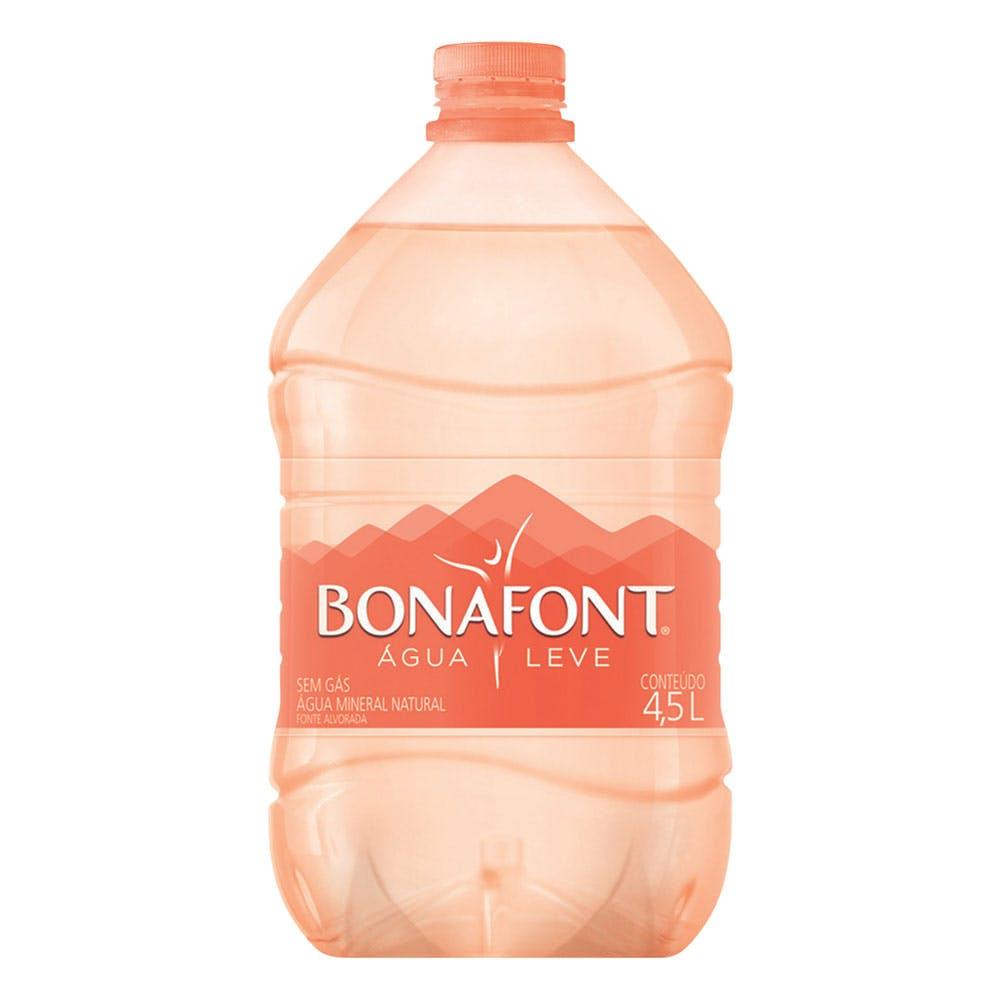 Água Sem Gás Bonafont 4,5L