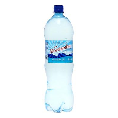 Água Sem Gás Montanha 1,5L