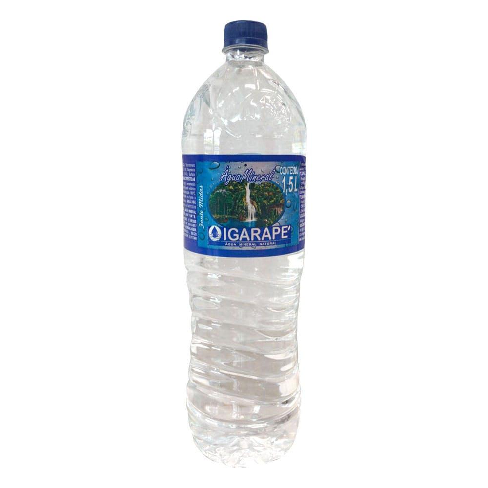 Água Sem Gás Igarapé 1,5L