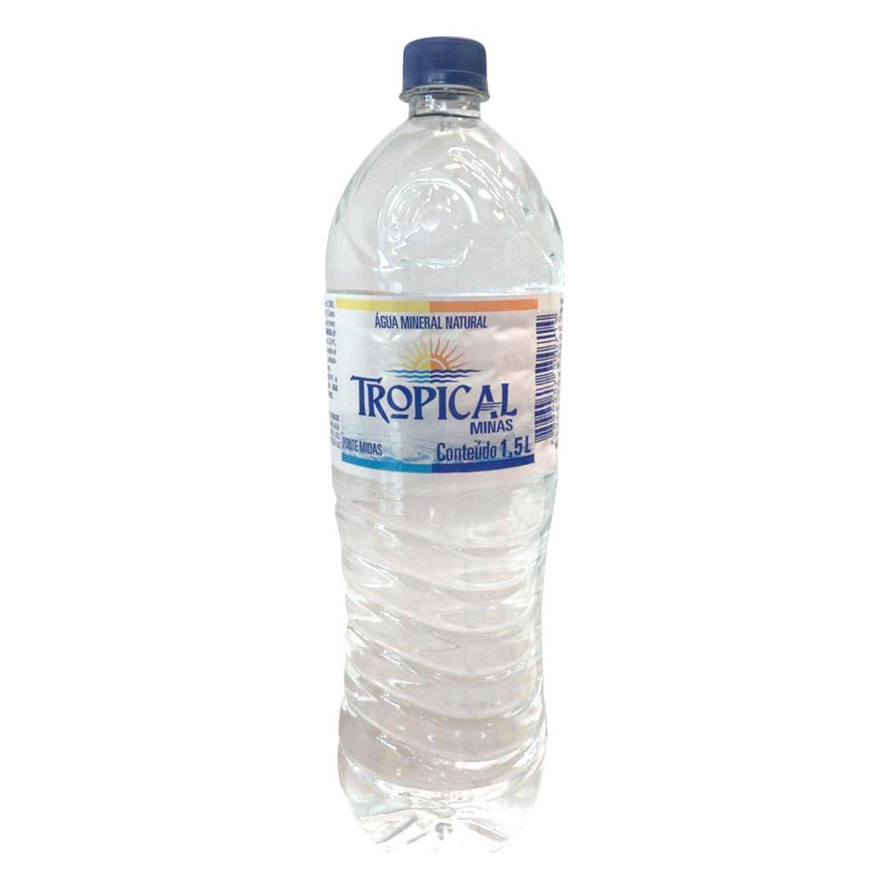Água Sem Gás Tropical Minas 1,5L