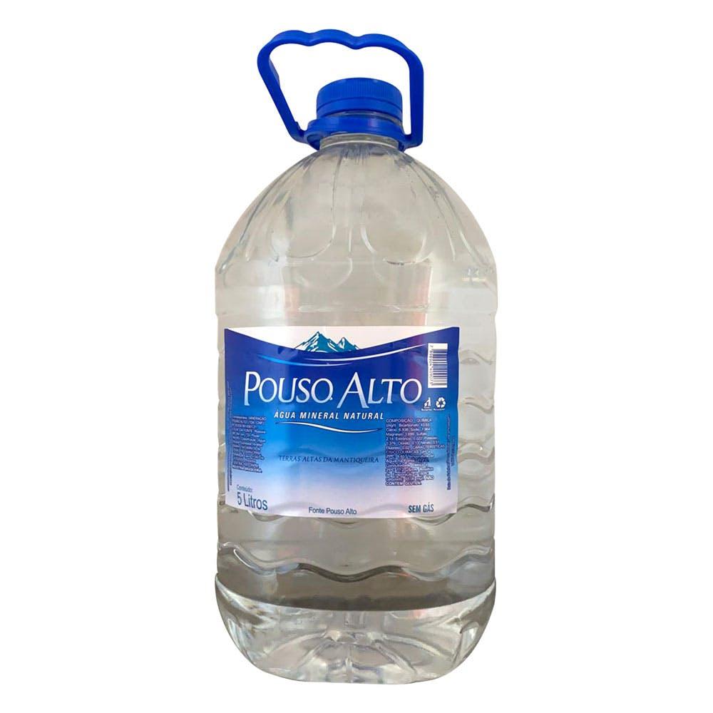 Água Sem Gás Pouso Alto 5L