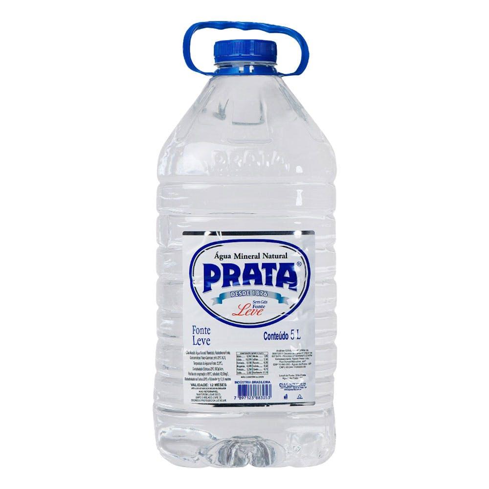 Água Sem Gás Prata 5L