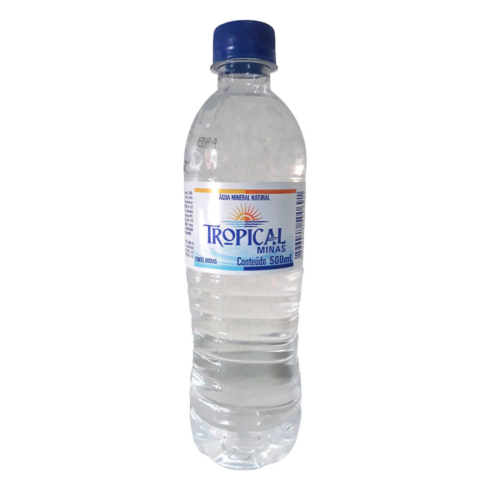 Água Sem Gás Tropical Minas 500ml