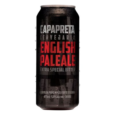 CapaPreta English Pale Ale 473ml