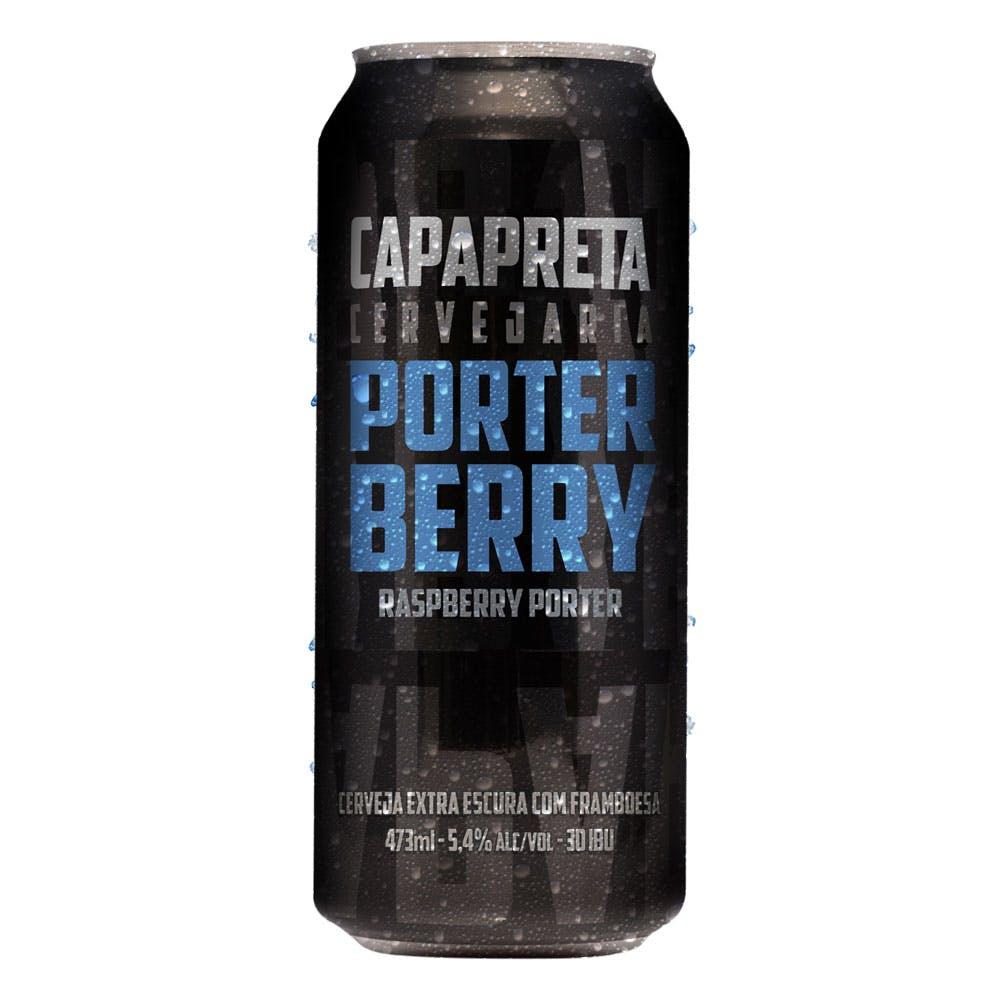 CapaPreta Porter Berry 473ml