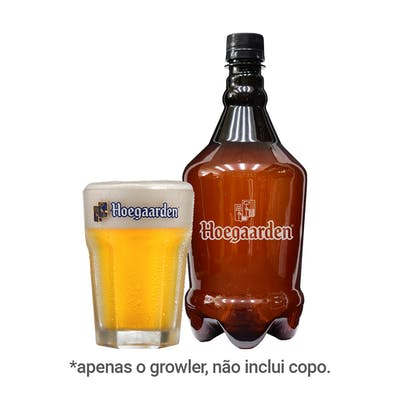 Growler Hoegaarden Pet 1L
