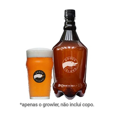 Growler Goose Island English Bitter Pet 1L