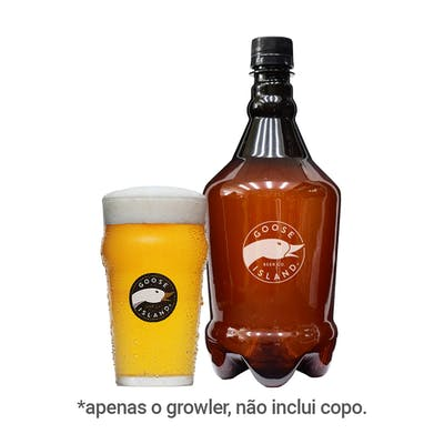 Growler Goose Island Yellow Line Pet 1L