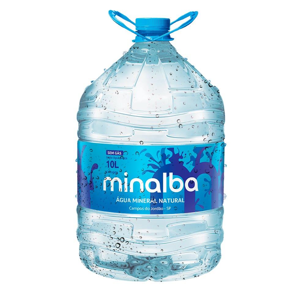 Água Sem Gás Minalba 10L