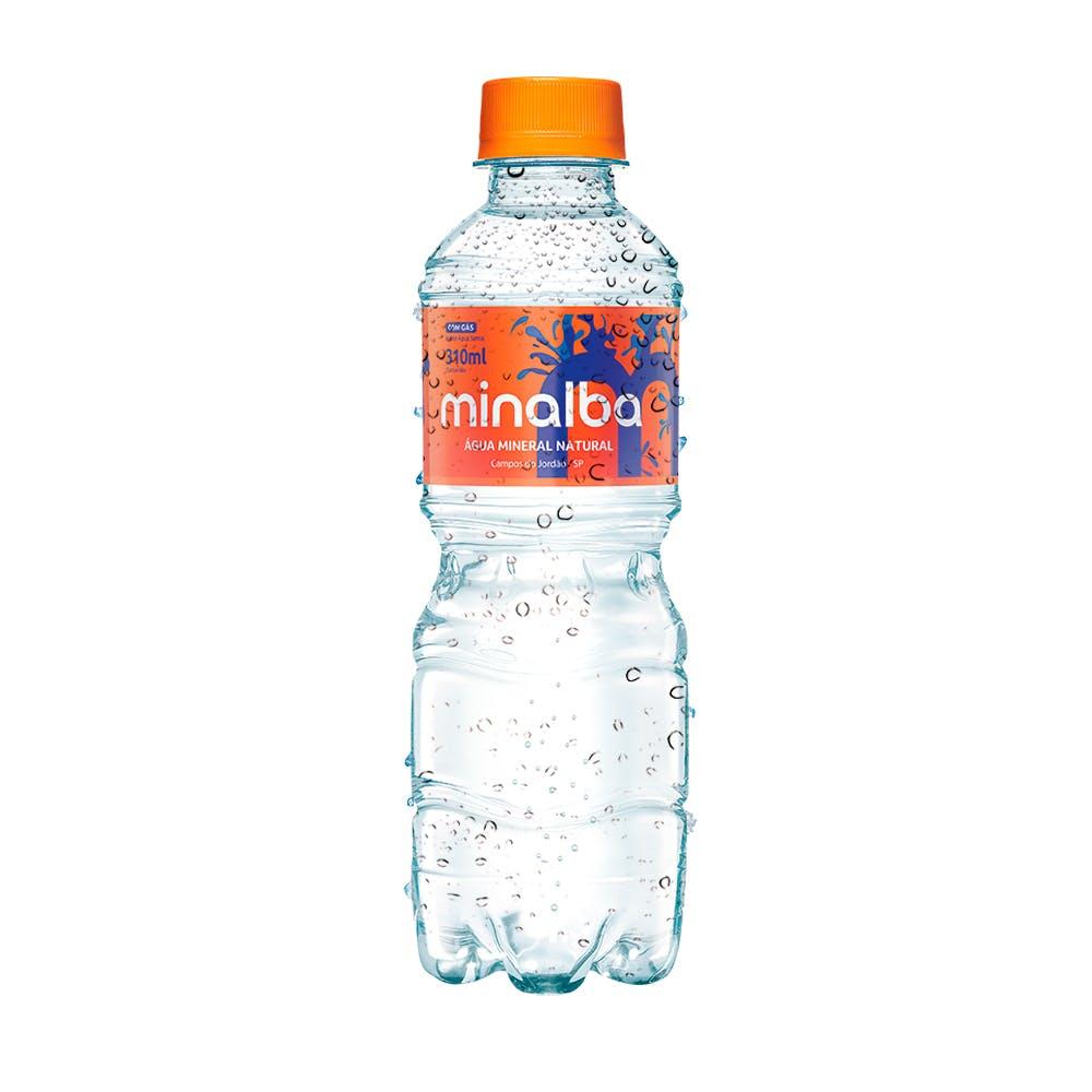 Água Com Gás Minalba 310ml