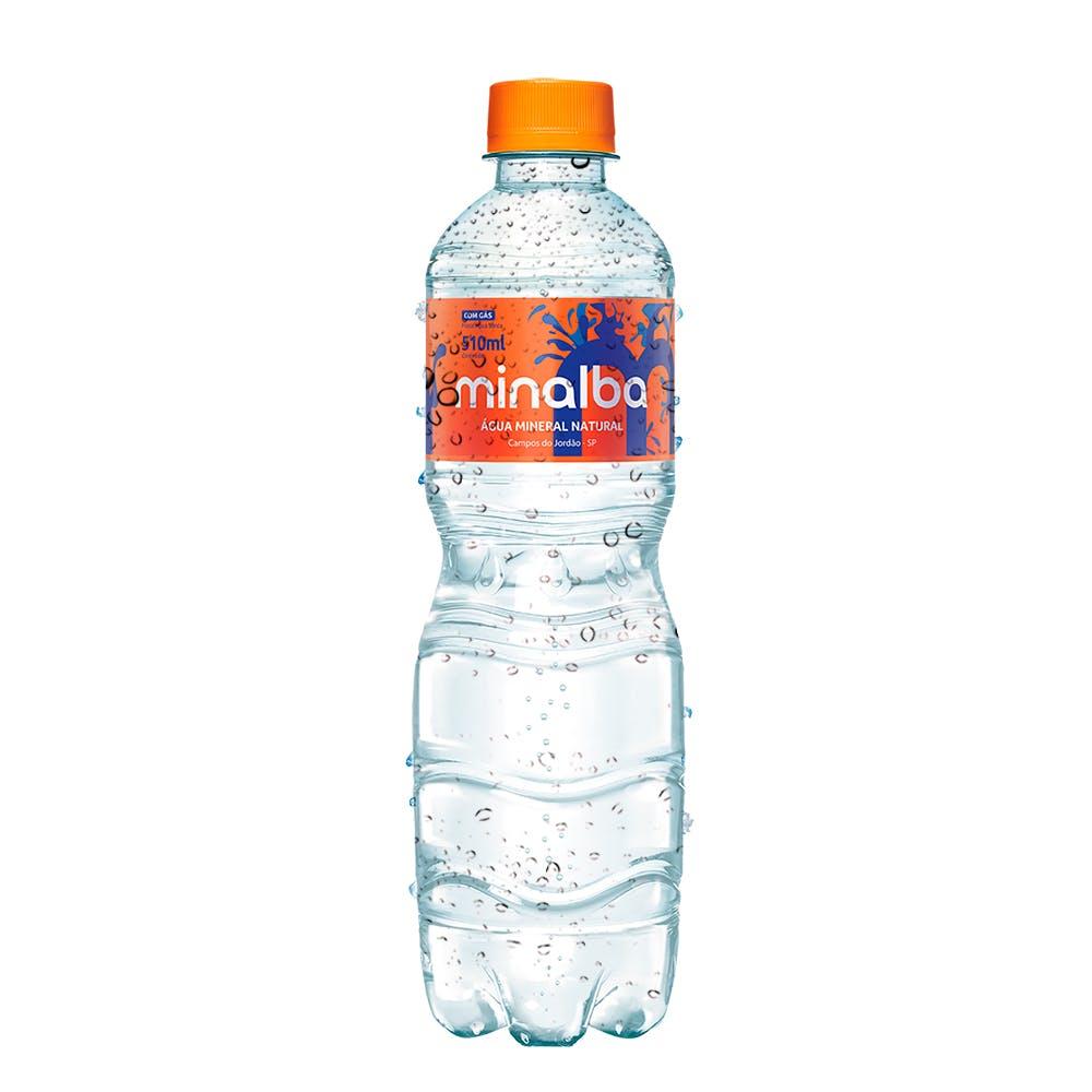 Água Com Gás Minalba 510ml