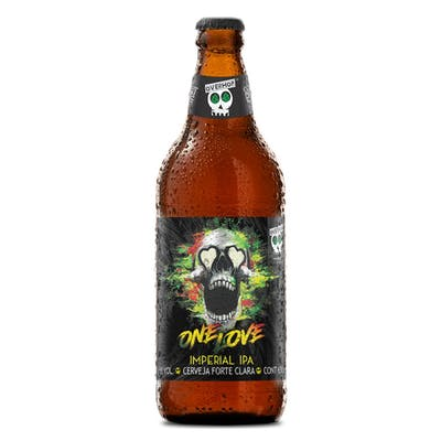 Overhop Imperial IPA 500ml