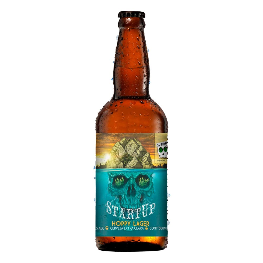 Overhop Hoppy Lager 500ml